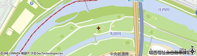 愛知県名古屋市北区中切町周辺の地図