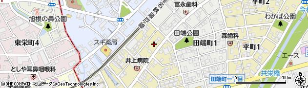 ちぇご家周辺の地図