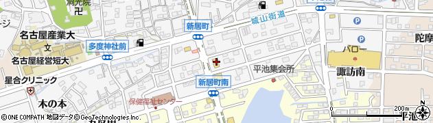 マリノ尾張旭店周辺の地図