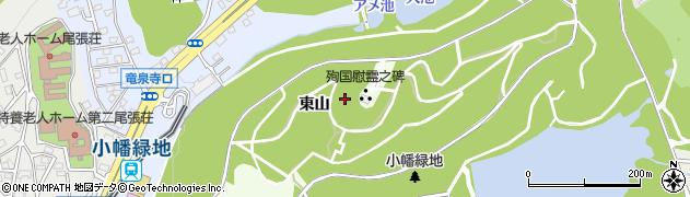 愛知県名古屋市守山区川(東山)周辺の地図