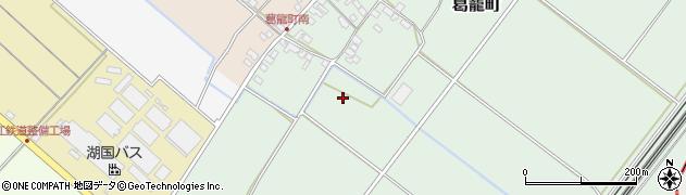 滋賀県彦根市葛籠町周辺の地図