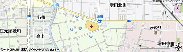 寿がきや稲沢ゼント店周辺の地図