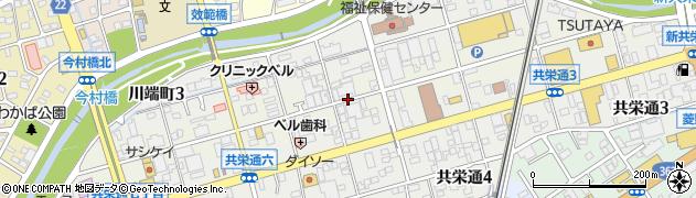愛知県瀬戸市北浦町周辺の地図