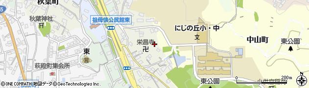 愛知県瀬戸市一里塚町周辺の地図