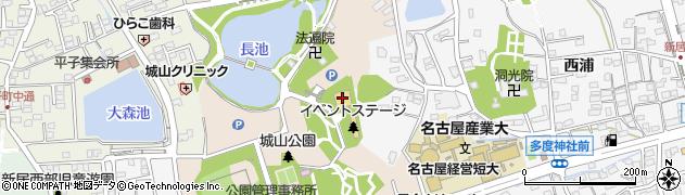 スカイワードあさひ周辺の地図