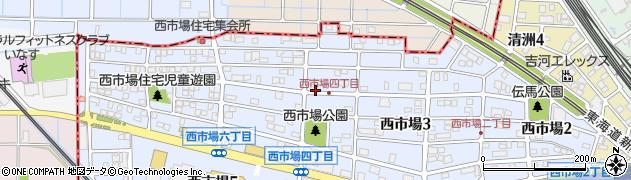 寿し政周辺の地図