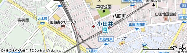 綾周辺の地図