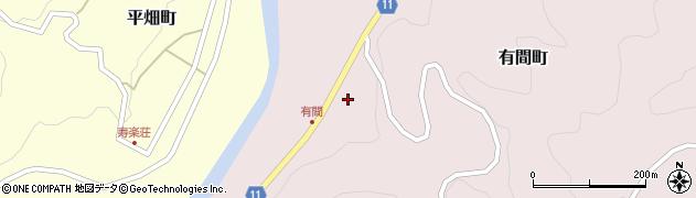 愛知県豊田市有間町(惣作)周辺の地図