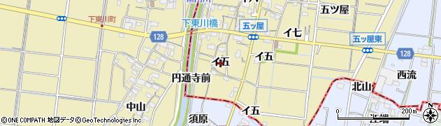 愛知県稲沢市祖父江町甲新田(イ五)周辺の地図