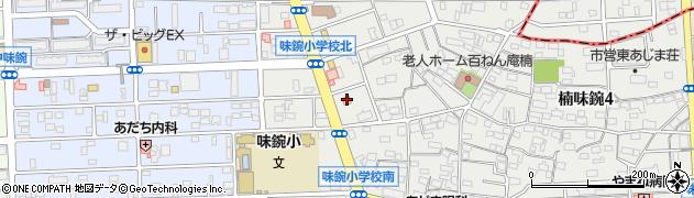 名古屋あじま食堂周辺の地図