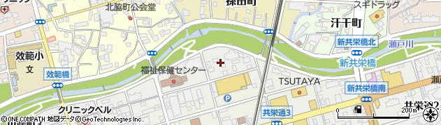 愛知県瀬戸市川端町周辺の地図