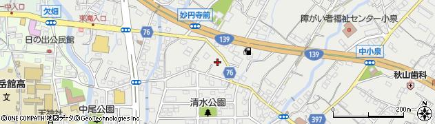 スナック琥珀周辺の地図