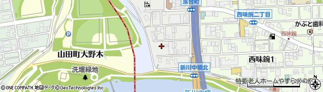 中京デリカ株式会社周辺の地図