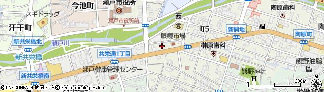 ピザハット デリバリー瀬戸店周辺の地図