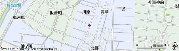 愛知県稲沢市西溝口町周辺の地図