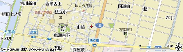 愛知県稲沢市平和町法立(東法立北)周辺の地図