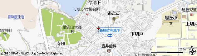 名鉄愛宕団地周辺の地図