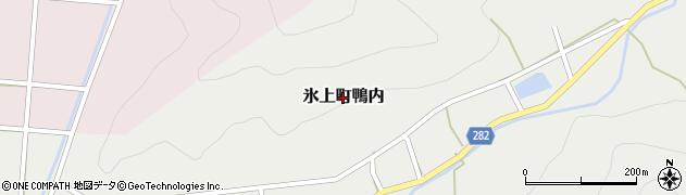 兵庫県丹波市氷上町鴨内周辺の地図