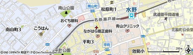 茉莉周辺の地図