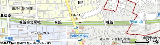 愛知県名古屋市北区楠町(味鋺字南加勢)周辺の地図