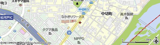 とんかつヒカル亭周辺の地図