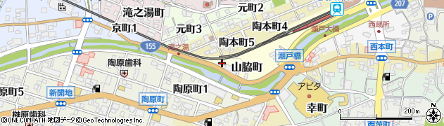 ぱぴぷぺぽ周辺の地図