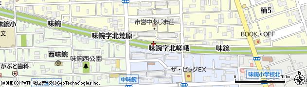 愛知県名古屋市北区楠町(味鋺字船原)周辺の地図