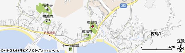 東蔵寺周辺の地図