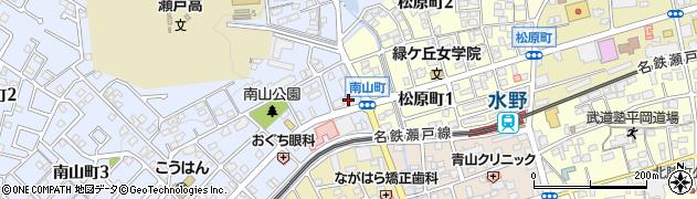 プリンセス周辺の地図