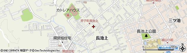 愛知県尾張旭市平子町(長池上)周辺の地図