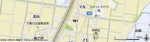 愛知県稲沢市祖父江町甲新田(イ八)周辺の地図