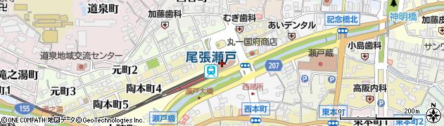 株式会社パルティ6周辺の地図
