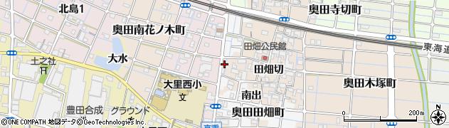 愛知県稲沢市奥田町(計用)周辺の地図