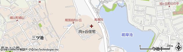 愛知県尾張旭市城山町(向ケ丘)周辺の地図