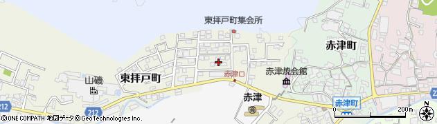 愛知県瀬戸市東拝戸町周辺の地図