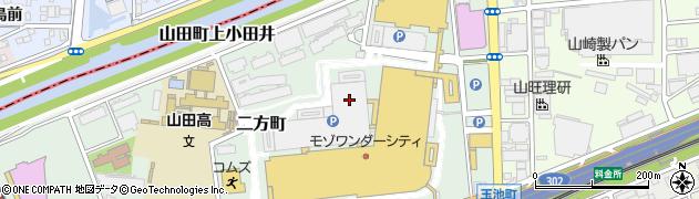 愛知県名古屋市西区二方町周辺の地図