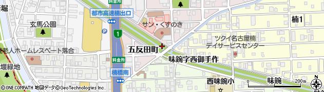 愛知県名古屋市北区楠町如意字長ノ島周辺の地図