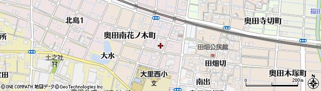 愛知県稲沢市奥田計用町周辺の地図