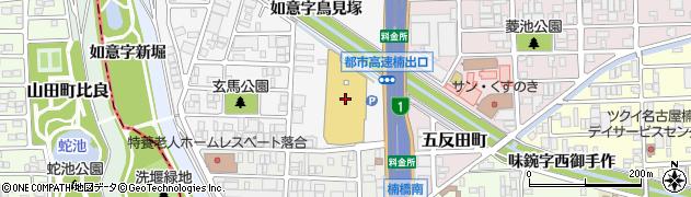 CrazyCrepesドンキホーテ名古屋本店周辺の地図
