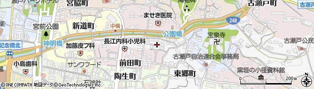 愛知県瀬戸市杉塚町周辺の地図