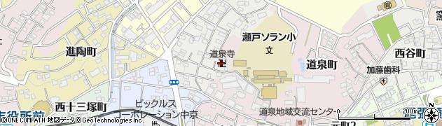 道泉寺周辺の地図