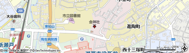 金神社周辺の地図