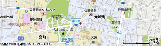福石神社周辺の地図