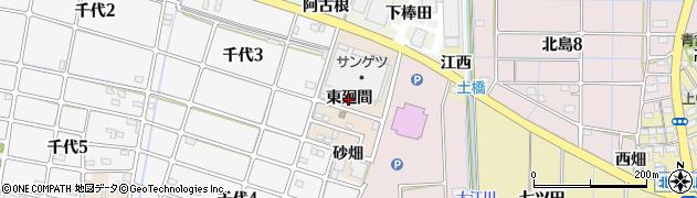 愛知県稲沢市千代町(東廻間)周辺の地図