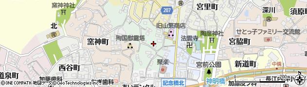 愛知県瀬戸市仲切町周辺の地図