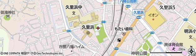 長安寺周辺の地図