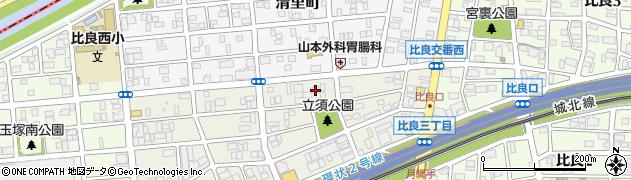 愛知県名古屋市西区砂原町周辺の地図