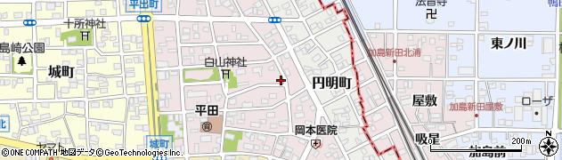 オカ周辺の地図