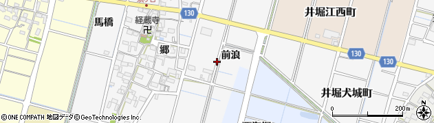 愛知県稲沢市平和町須ケ谷周辺の地図