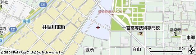 愛知県稲沢市井堀宿塚町周辺の地図